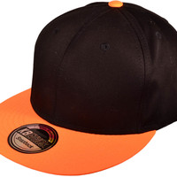neon orange snapback for girls - Google Search