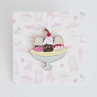 'Banana Split' Pin