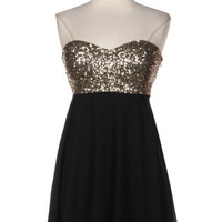All That Glitters is Gold Dress