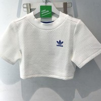 DCKKID4 Adidas' Short Shirt Crop Top Tee Blouse