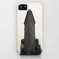 Flatiron Building - NYC iPhone & iPod Case by Nicklas Gustafsson