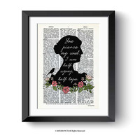 Jane Austen print-Jane Austen dictionary print-you pierce my soul print-quote print-dorm print-gift for book lovers-by NATURA PICTA-DP161