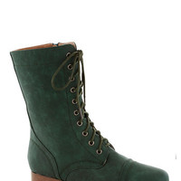 Barn Brunch Boot in Emerald | Mod Retro Vintage Boots | ModCloth.com