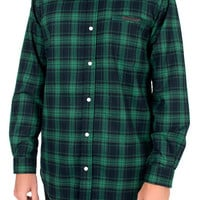 The Slated LS Buttondown Shirt in Green