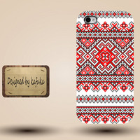 iphone case, i phone 4 4s 5 5s case, iphone4 iphone4s iphone5 case, plastic rubber silicone cases cover, red floral pattern p1129