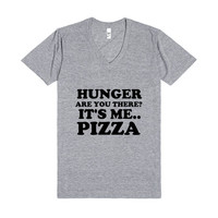 ARE YOU THERE HUNGER IT'S ME PIZZA VNECK