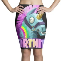 Fortnite Unicorn Pencil Skirts