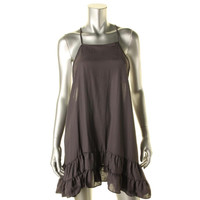 Free People Womens Tiered Racerback Slip Dress