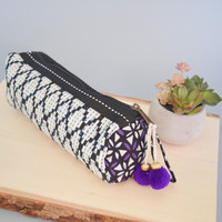 Mohave Tassel Pouch Purple