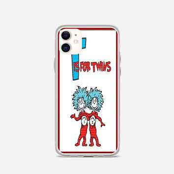 Thing 1 And Thing 2 iPhone 11 Case