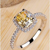 New fashion diamond ring female models