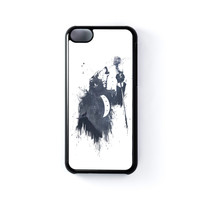 Wolf Song 3 Black Hard Plastic Case for Apple iPhone 5C by Balazs Solti