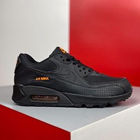 NIKE Air Max 90 Fashion Men Leisure Air Cushion Sport Running Shoes Sneakers