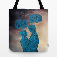 The Fault in Our Stars-Hazel and Augustus Tote Bag by Anthony Londer | Society6