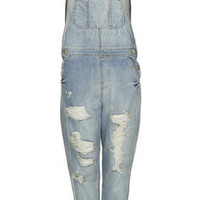 MOTO Bleach Long Leg Dungarees - Rompers and Jumpsuits  - Clothing
