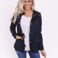 Light Weight Jacket- Navy