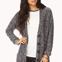 FOREVER 21 Cuddled Up Boucle Cardigan