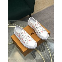 lv louis vuitton men fashion boots fashionable casual leather breathable sneakers running shoes 92