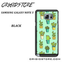 Cactus For Samsung Galaxy Note 5 Case Please Make Sure Your Device With Message Case UY