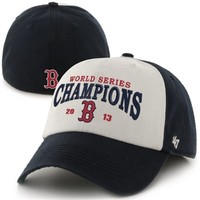 '47 Brand Boston Red Sox 2013 MLB World Series Champions Freshman Franchise Fitted Hat - Red/White