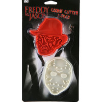 Freddy Vs. Jason Cookie Cutter Set