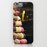 Macarons Tower Paris iPhone & iPod Case by Pati Designs