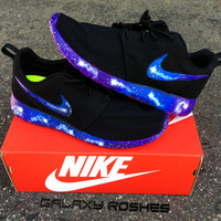 Custom Nike Roshe Run Galaxy - Any Size