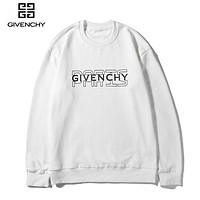 Givenchy casual couple monogram LOGO hot seller of hoodies White