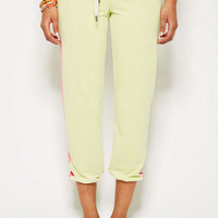Capri Jogger in Yellow
