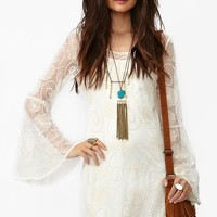 Spellbound Dress - Ivory in  What's New at Nasty Gal