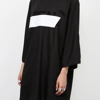 Real High Neck Loose Top | Black by CRES.E DIM