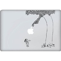 Giving Tree Decal - Vinyl Macbook / Laptop Decal Sticker Graphic: Everything Else