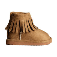 Lined Boots - from H&M