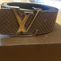 Louis Vuitton Mens Belt - LV INITIALS 40MM