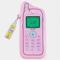 Cellular pencil case in Pink