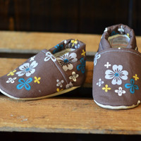 "Organic ""Flower"" Shoes - NB to 4T"