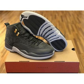 Air Jordan 12 The ash Basketball Shoes 40-47