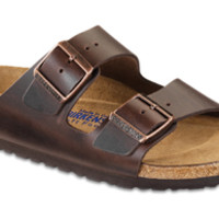 Arizona Soft Footbed Brown Amalfi Leather Sandals | Birkenstock USA Official Site
