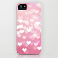 I Heart You iPhone & iPod Case by Pink Berry Pattern