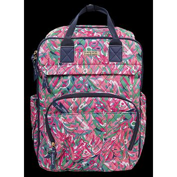 Simply Southern Preppy Rain Forest Backpack Bag