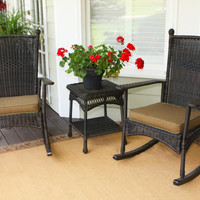 Tortuga Outdoor Portside Classic Rocking Chair Set