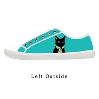 Custom Bussines Cat Stylish Women's Canvas Shoes Fashion Shoes for Women
