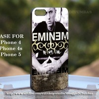 Eminem The way, Print on Hard Cover iPhone 5 Black Case