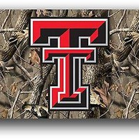Texas Tech Red Raiders CAMO 95427 3x5 Flag Realtree Outdoor Banner University of