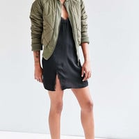 Silence + Noise Diamond Quilted Bomber Jacket - Urban Outfitters