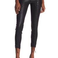 BLANKNYC Denim | Lace Up Faux Leather Pants | Nordstrom Rack