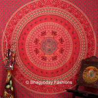Hippie Tapestries, Tapestry Wall Hanging, Mandala Tapestries, Mandala Wall Art, Hippie Wall Hanging, Indian Tapestry, Bohemian Tapestry