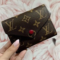 Louis Vuitton LV Classic Mini Coin Purse Fashion Men's and Women's Key Cases Small Wallets