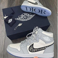 Dior High-Top Hot Sale Men's and Women's Basketball Shoes Sneakers