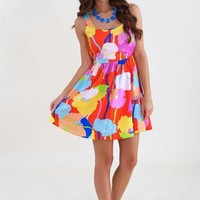 Poppy For Your Thoughts Dress